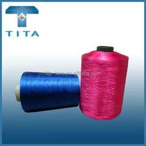 Multicolor industrial machine embroidery thread for computer embroidery, 100% polyester