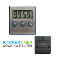 Electronic timer timing reminder home kitchen laboratory countdown timer control device