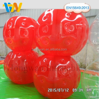 Exciting body game TPU/PVC soccer bubble, bubble football,inflatable bumper ball