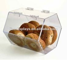 Acrylic Double-Door Stackable Food Bins (FD-A-259)