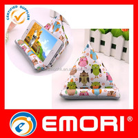 Eco-friendly durable decoration fabric cellphone stand/mobile holder with cleaning screen function