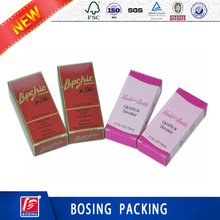 Custom colorful Printed Paper Cosmetic Packaging Lipstick Boxes