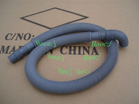Plastic washing machine retractable drain hose waste hose corrugated hose outlet flexible pipe