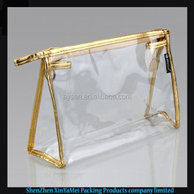 clear pvc cosmetic pouch for skincare products