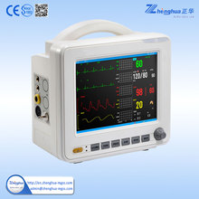 Cheapest multi-parameter portable medical patient monitor(ZHPM-02)