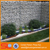 ISO9001 Factory supply galfan welded gabion box, stone cage for retaining walls