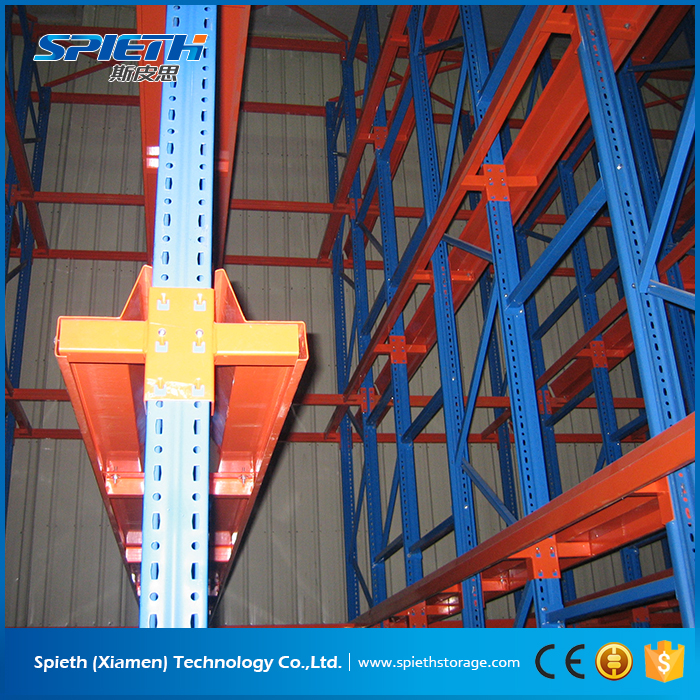 cold room multi-level drive in drive thru pallet rack