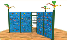 Seaworld Theme Kids Wall Climbing Outdoor Play Climbers Plastic Rock Climbing Walls for Children