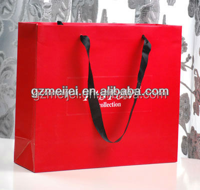 custom simple design best texture paper bag