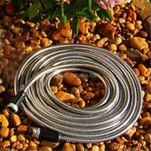 lowest price Stainless Steel Garden Hose flexible car wash hose