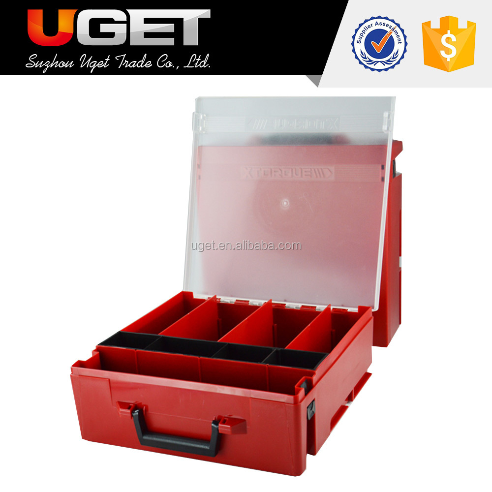 High Strength multi-function plastic waterproof transparent tool storage box