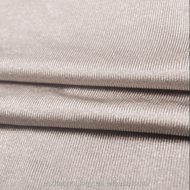 Anti Radiation 100% Silver Coated Nylon Fabric