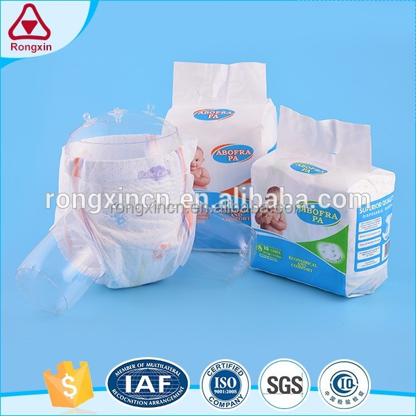 High Absorbent Good Quality Baby Diaper In Guangzhou China
