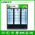 commercial fridge/beverage showcase cooler/drinks display freezer