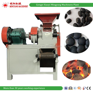 Factory price coconut shell corn cob charcoal powder briquette machine from Gongyi Xiaoyi Mingyang Machinery Plant