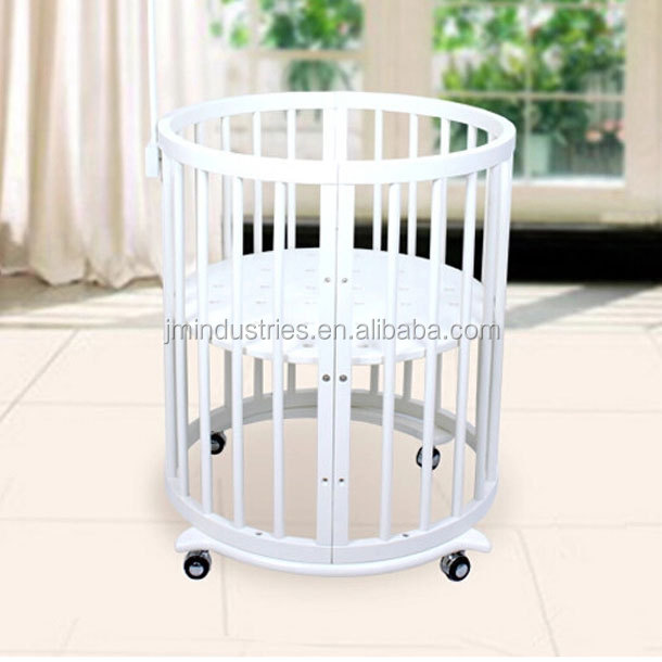 5 in 1 baby crib / baby cot / baby bed set