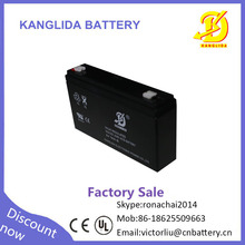 HOT sale AGM sealed lead acid rechargeable battery green power electric scooter