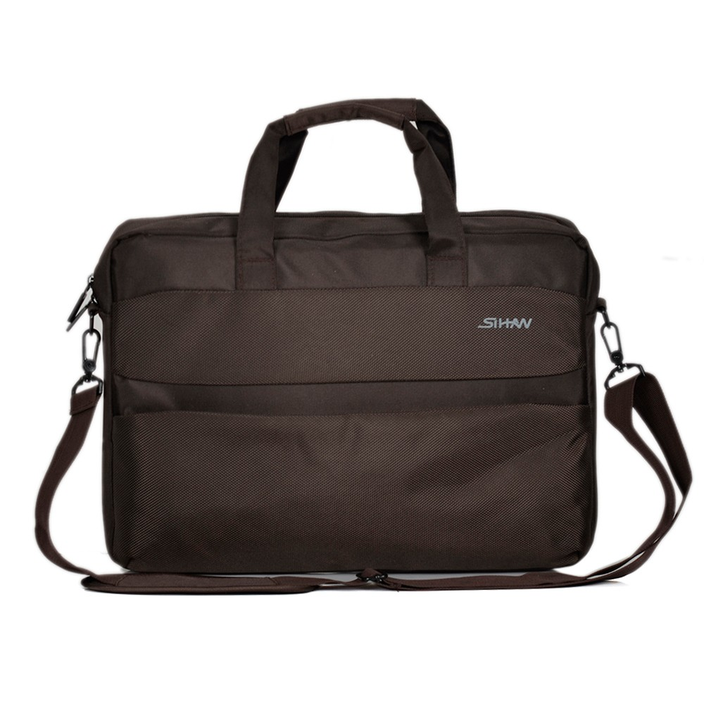 Classical business laptop bag waterproof 15 inch laptop with Mobile phone bag computer compartment