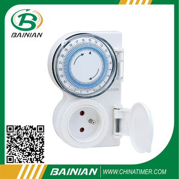 Outdoor mechanical timer French Type CE certificate
