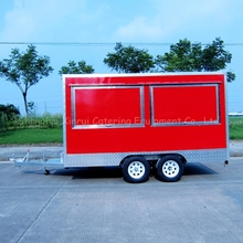 mobile ice cream food cart trailer car for sale