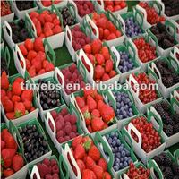 New design corrugated pp flute fruit packaging box