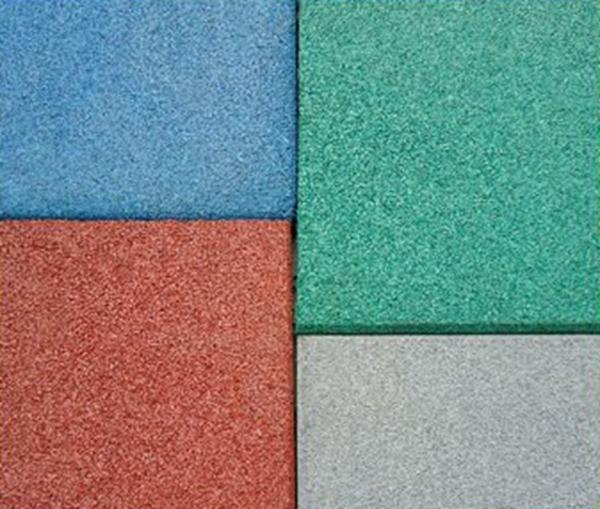 Buona qualit di gomma pavimento di piastrelle per esterni - Piastrelle di gomma ...