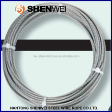 electric wire cable hs code ,steel cable , galv steel wire ropes