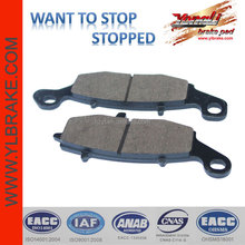 ceramic quality brake pad for mtorcycle ER-6F/ ZR-X 400 E3 ,Excellent disc brake pad for motorcycle ATV scooter,factorysupply