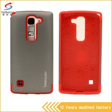 Wholesale bulk cheap double color in one phone cover case for lg ms769