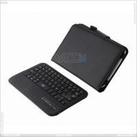 acc4s high quality cheap scratchproof Bluetooth Keyboard Dock + Smart Cover Case with Kickstand for SAMSUNG Galaxy Note 8.0 (PU