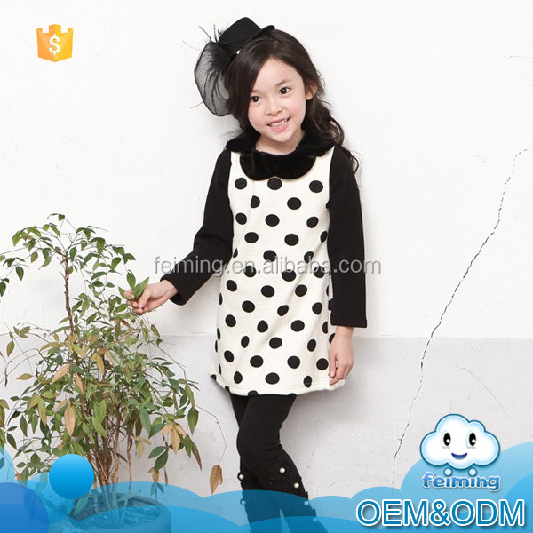 2016 Fashion Autumn Long Sleeve cute baby Party Birthday girls kids Children dresses