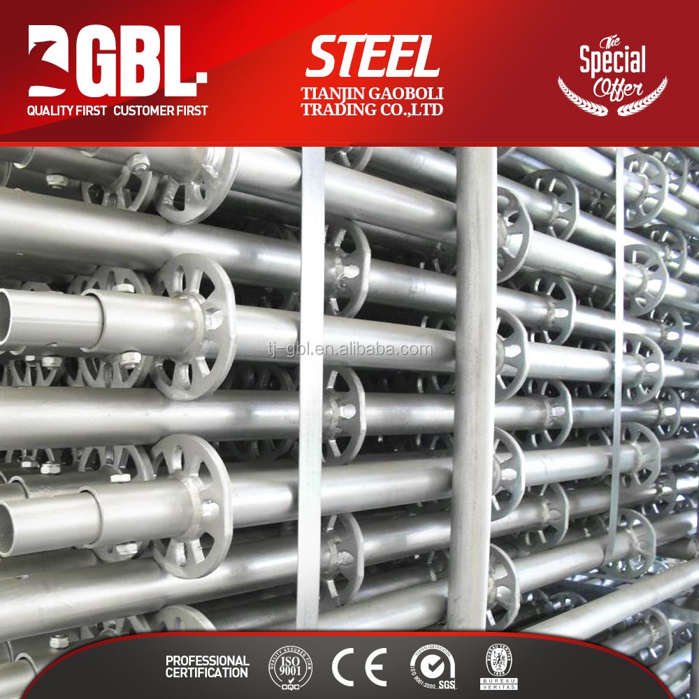 galvanized steel lock pin scaffolding for sale