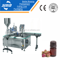 SM-EB5 Automatic massage oil filling and capping machine