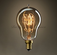 High quality Smoke Glass A15 Mini bulb 25W-60W vintage edison light bulb