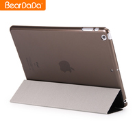 Best Quality pu+pc leather case for ipad 5