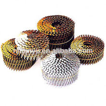 Manufacturering !Roofing Coil Nails,15 Degree Coating Coil Nails wire band for making staples