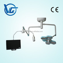CE Marked Single arm Shadowless Surgical Light with video carmera