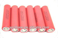 lithium ion battery cell lg 18650he2 icr18650he2