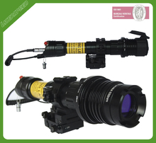 military low temperature operating laser flashlight with high powered laser