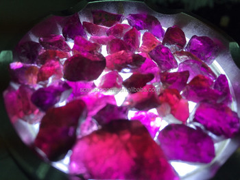 High Quality Natural Purple Rhodolite Rough