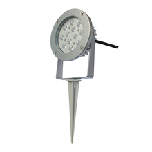 Hot selling and high Quality 12w color changing outdoor led garden spike light fixtures