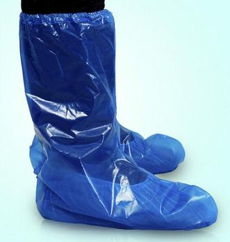 Waterproof Disposable PE Boot Covers or Shoes Covers