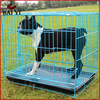 New Design Folding Steel Dog Cages, Dog Crate, Dog Kennel With Plastic Tray