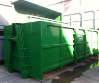 hook lift bins mobile containers recycling garbage hooklift bins made of steel