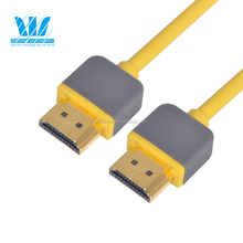 High quality Am To Am slim tv out HDMI cable 2.0 Coupler for DVD to TV