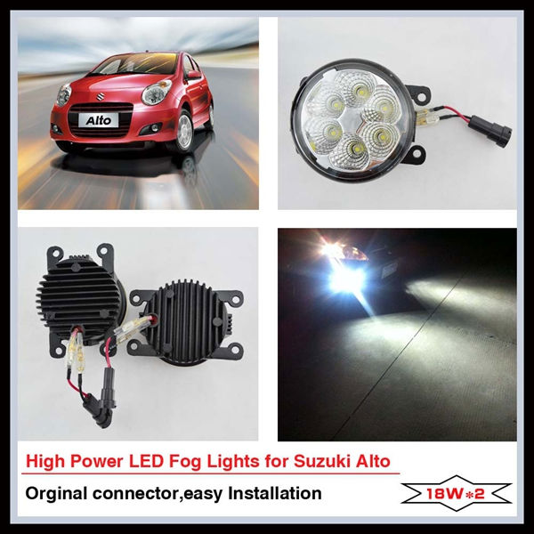 Great brightness accessories suzuki jimny for SUZUKI ALTO LED fog lamp