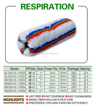 repiration fabric paint roller cover And roller frame