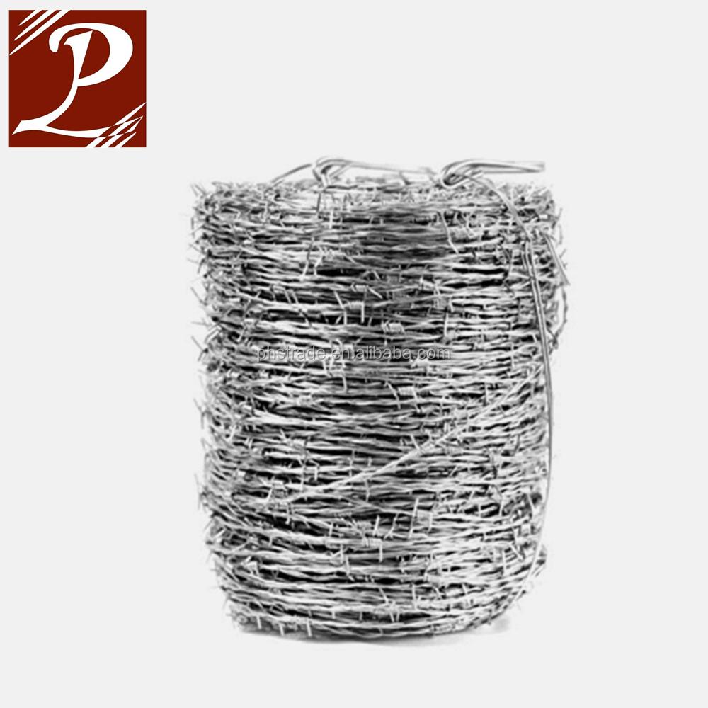 Mild Steel 200m Galvanised Barbed Wire Weight Per Meter - Buy Barbed ...
