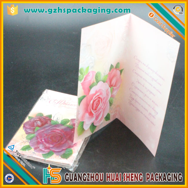 Handmade Pop Up Greeting Cards With Colorful Dried Flowers Greeting Card