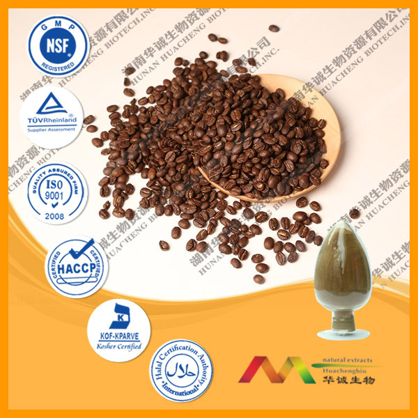 Factory Price 100% Natural Green Coffee Bean Extract